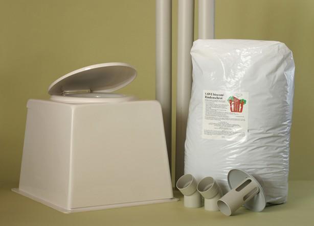 toilette sèche pack économique, la toilette sèche encore plus économique